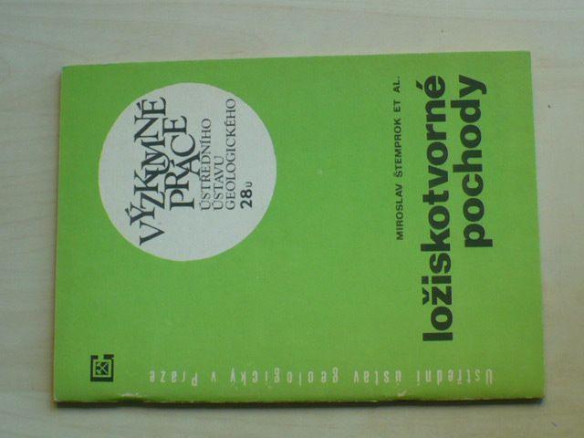 Výzkumné práce Ústředního ústavu geologického 28u (1981)