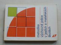 Bělinová - Metodika výchovné práce v jeslích a mateřských školách (1986)