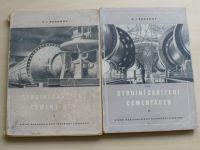 Boganov - Strojní zařízení cementáren I. II. (1954) překlad Kožnar