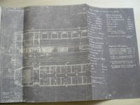 Čtyřnápravový motorový vůz M 273005 a 006 (popis, výkresy) První Brněnská Královopolská stroj.1949