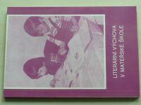 Literární výchova v mateřské škole (1989)