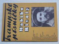 Trampského písničky Wabiho Rivoly (1969)
