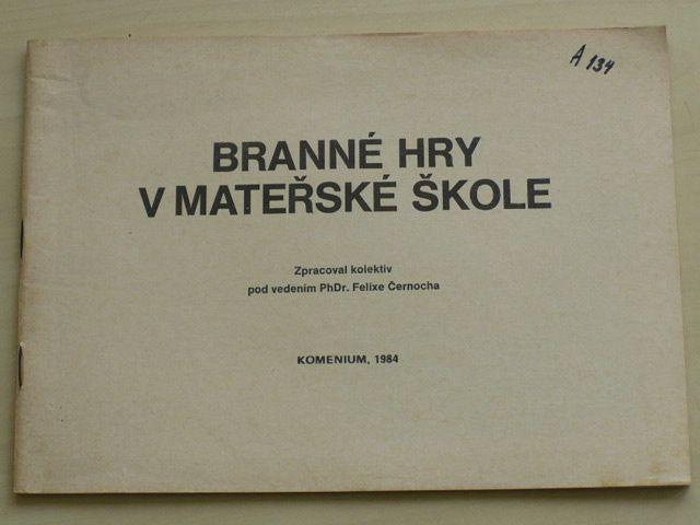 Černoch - Branné hry v mateřské škole (1984)