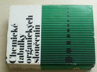 Chemické tabulky organických sloučenin (1975)