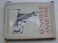 Meyner - Künster Anatomie (Seemann Verlag Leipzig 1958) Anatomie pro výtvarníky