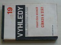 Bednář - Církev a stát (1934) Výhledy 19