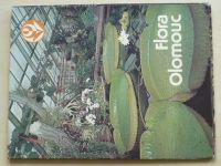 Flora Olomouc - soubor 15 barevných listů v obálce; česky, rusky, německy