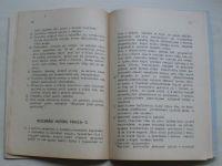 Letadlový motor PRAGA-D - Popis-osluha-ošetřování (Let Jinonice 1949)
