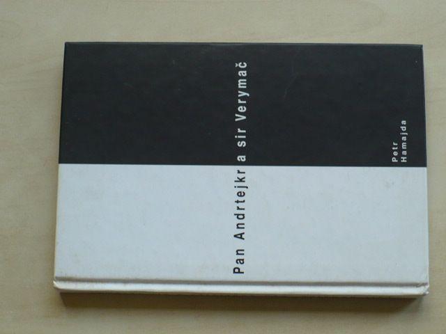 Hamajda - Pan Andrtejkr a sir Verymač (1999) věnování a podpis autora