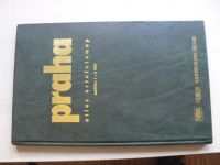 Praha - atlas ortofotomap měřítko 1:6000 (1998)