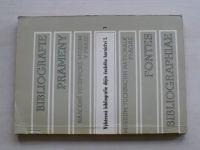 Výběrová bibliografie dějin českého hornictví I. - Národní technické muzeum Praha 1971