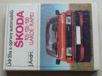 Andrt - Údržba a opravy automobilů Škoda 105, 120, 130 Garde, Rapid (1987)