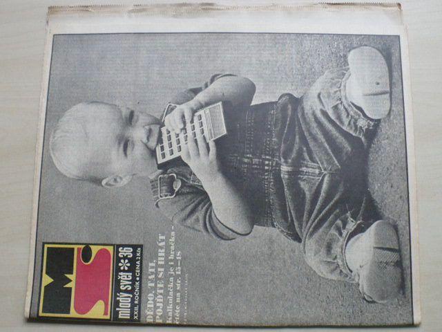 Mladý svět 36 (1980) ročník XXII.