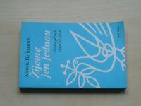 A. Hoffmanová - Žijeme jen jednou - životní příběh statečné ženy (1998) podpis autorky