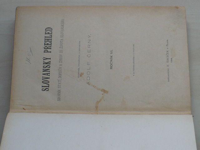 Černý - Slovanský přehled 1-10 (1904) ročník VI.