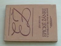 Sedlák - Epické žánre v literatúre pre mládež (1981) slovensky