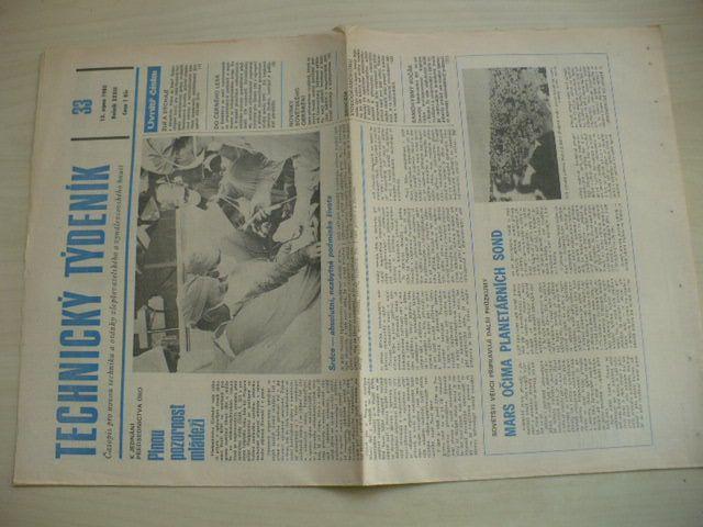 Technický týdeník 33 (1985) ročník XXXIII.