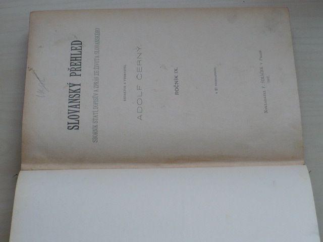 Černý - Slovanský přehled 1-10 (1907) ročník IX.