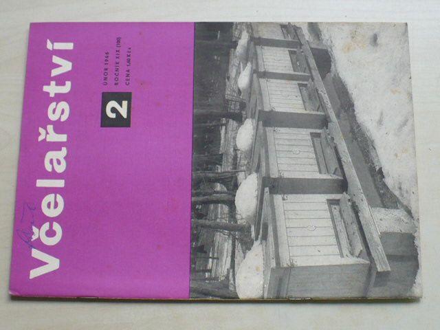 Včelařství 1-12 (1966) ročník XIX. (chybí čísla 1, 6, 10 čísel)