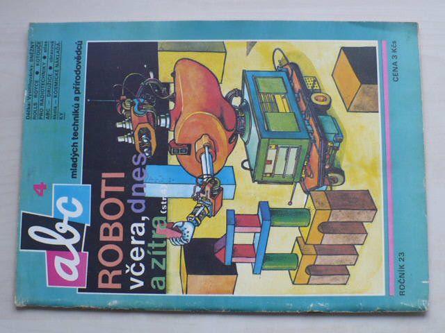 ABC 1-24 (1978-79) ročník XXIII. (chybí čísla 1-3, 6-13, 17, 12 čísel)