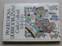 Collodi - Pinocchiova dobrodružství (1988) il. Zmatlíková