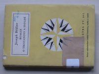 Světová četba sv. 207 - Bédier - Román o Tristanovi a Isoldě (1959)