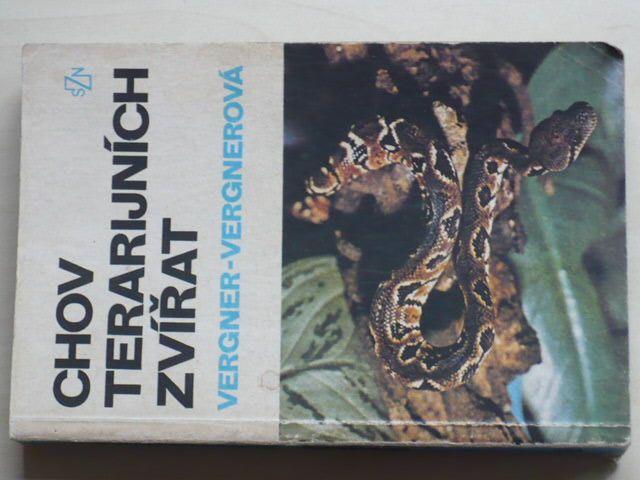 Vergner - Chov terarijních zvířat (1986)