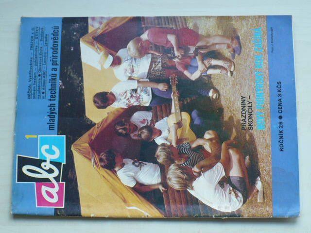 ABC 1-24 (1981-82) ročník XXVI. (chybí číslo 19, 23 čísel)