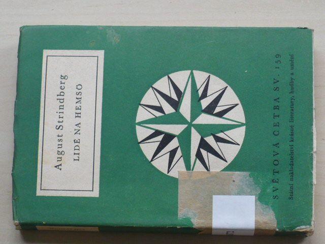 Světová četba sv. 159 - Strindberg - Lidé na Hemsö (1958)