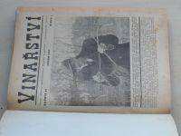 Vinařství 1-10 (1953) ročník XLVI. + 1-10 (1954) ročník XLVII. + 1-12 (1955) ročník XLVIII.