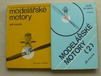 Kalina - Modelářské motory 1,2 (1980,1983)
