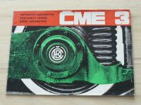 Motorová lokomotiva ČME-3 - ČKD Praha (1984) prospekt