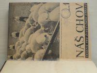 Náš chov 1-24 (1949) ročník IX. + Chovatelský pokrok 1-12 (1949) chybí čísla 4, 7 (10 čísel)