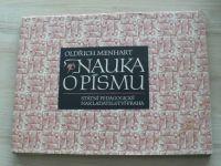 Oldřich Menhart - Nauka o písmu (1954)