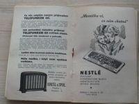Rádce pro hostitele. Všem majitelům Elektrolux ledniček! (1930) recepty, dobová reklama
