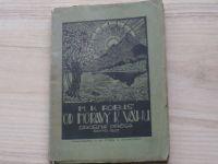 Robuš - Od Moravy k Váhu - Drobná prosa,  Brno 1927