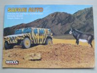 Safari auto - Jednoduchá papírová vystřihovánka (2000)