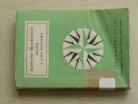 Světová četba sv. 172 - Mansfieldová - Blaho a jiné povídky (1958)