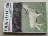 Folia venatoria - Myslivecký sborník 19/1989