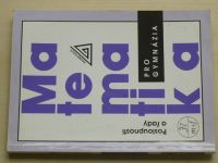 Matematika pro gymnázia - Posloupnosti a řady (2001)