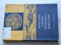 Poselství z Prahy do Moskvy roku 1589 (UK 1974)