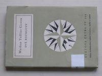 Světová četba sv. 244 - Cicero - Dvě rozmluvy (1960)