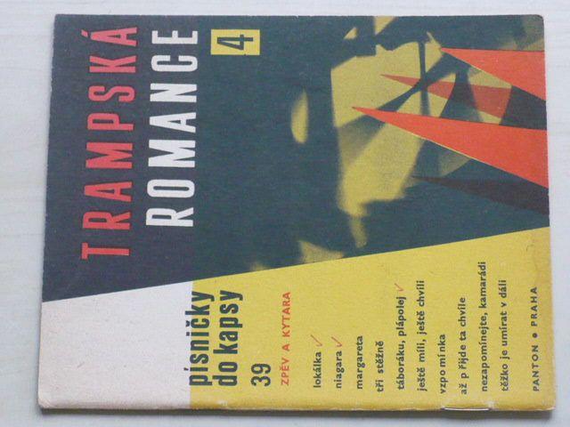 Trampská romance 4 - Písničky do kapsy 39 (1968)