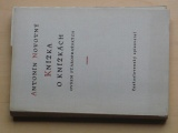 A. Novotný - Knížka o knížkách ovšem staropražských (1955)