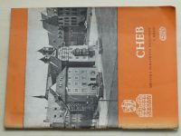 Cheb - Městská památková rezervace a hrad (1966)