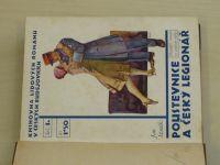 Staněk - Poustevnice a český legionář (1929) Knihovna lidových románů Sešit 1
