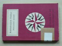 Světová četba sv.266 - Thákur - Poslední báseň (1961)