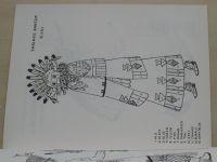 Indian Dancers coloring Book