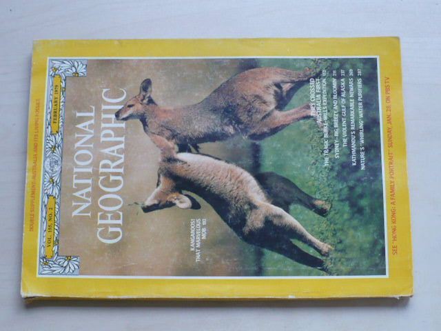 National Geographic (únor 1979) anglicky