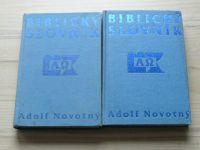 Novotný - Biblický slovník  A-P, R-Ž (1992) kompletní, 2 díly